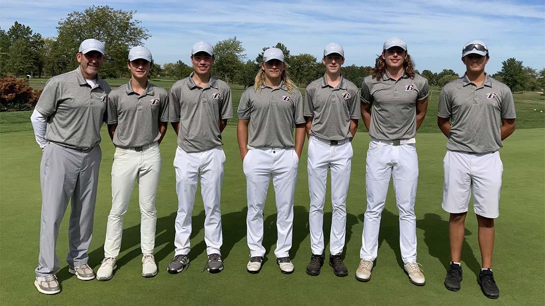 Bryan Boys Golf Team, 2021 District Champs